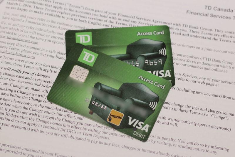 Como abrimos conta bancária como turistas no Canadá (TD Bank)